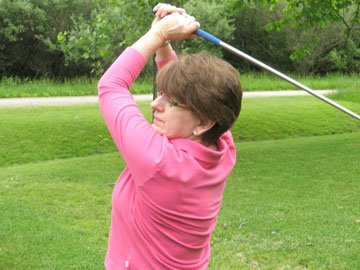 54-Year-Old Woman Finds her Sweet Swing Again After Rotator Cuff Surgery