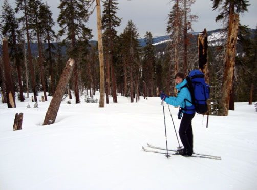 Able to Participate in Cross Country Ski Trip Four Months after ACL Surgery