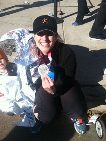 Able to Run the Chicago Marathon after Torn Meniscus Repair