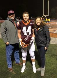 Back to Football after my ACL Surgery...Thanks to Team Cole