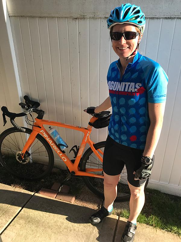 Physical Therapist back to cycling after knee surgery