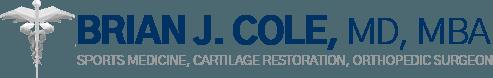 Brian J. Cole, MD, MBA logo
